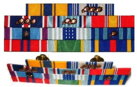 Air Force Flat Ribbon Rack Lovequilts