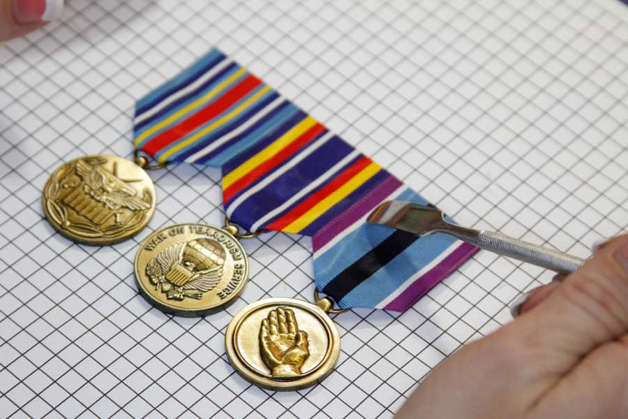 Home - UltraThin Ribbons & Medals - Custom Military Sets